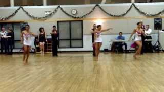 Central Jersey Dance Society Salsa Sensation Dance Salsa Performance by Estilo Dance Group 12 07 13