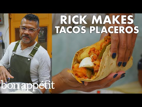 Rick Makes Tacos Placeros | From the Test Kitchen | Bon Appétit