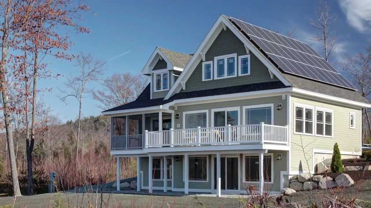 Main Eco Homes 25 Gerry Circle Sweden Maine Youtube