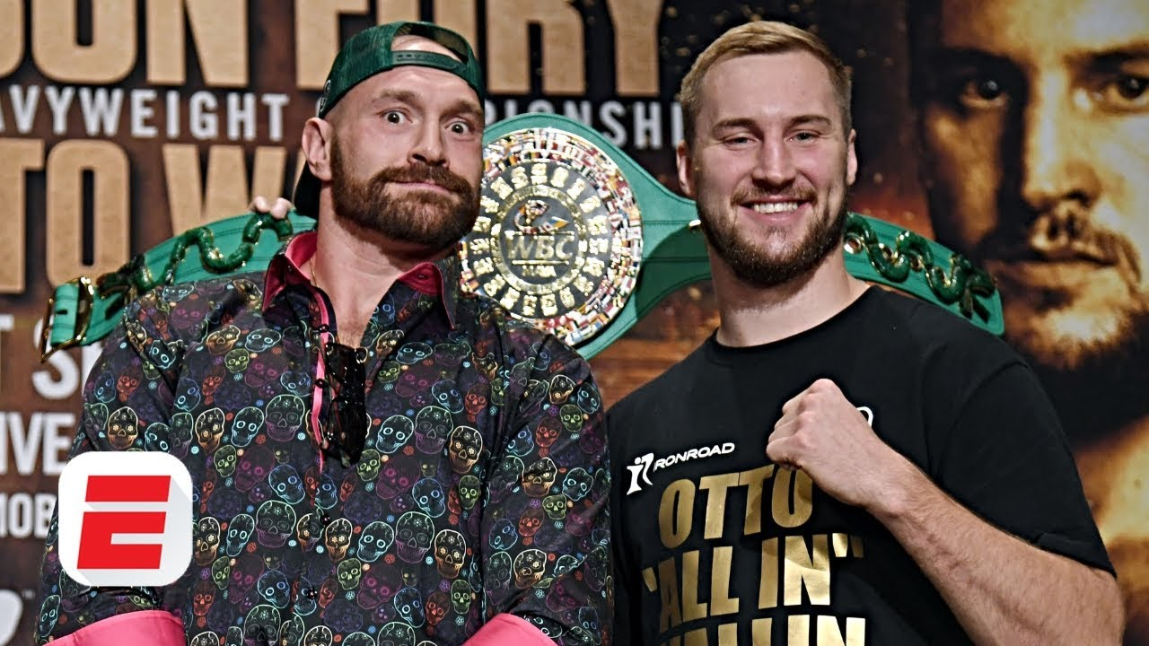 Tyson Fury says he brought fight forward for Mexican Independence Day | ESPN Boxing
