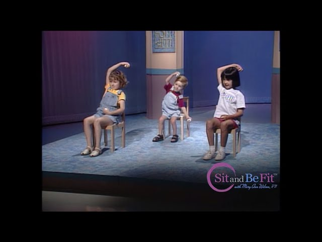 Sneak Peak Sit and Be Fit Kids' Workout