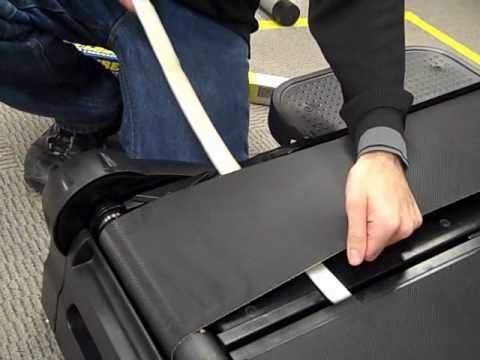 TreadClimber Belt Lubrication Demonstration Video | Bowflex