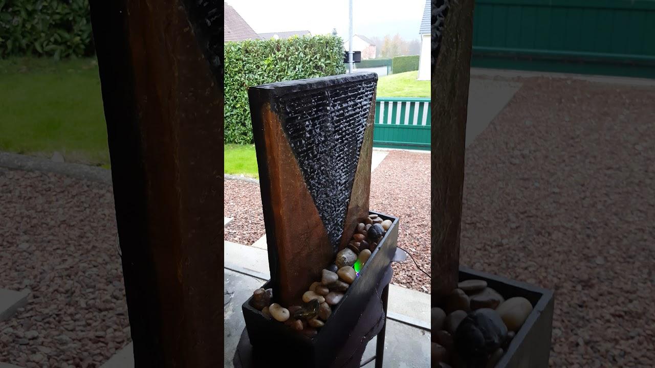 Fabriquer Une Fontaine Zen fontaine d'intérieur artisanale - youtube