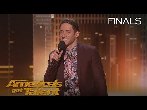 Samuel J Comroe: Comedian Tells Funny Story About His Tourette Syndrome – America's Got Talent 2018