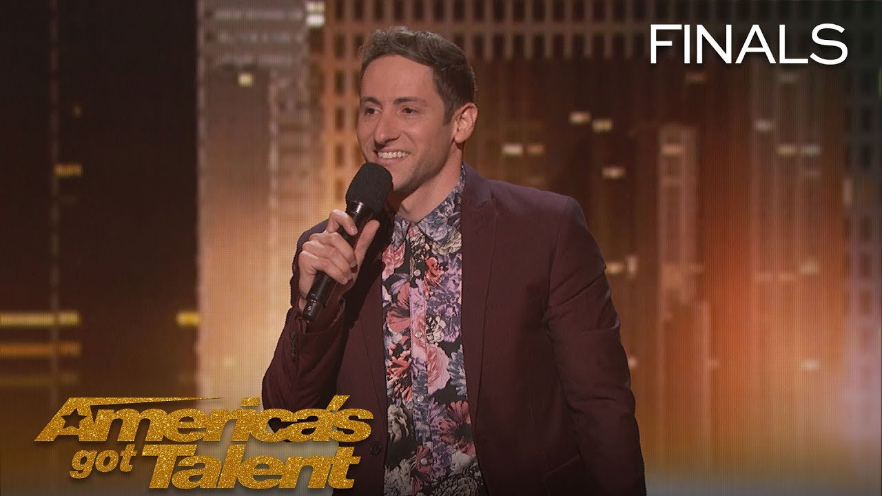 Samuel J Comroe: Comedian Tells Funny Story About His Tourette Syndrome - America's Got Talent