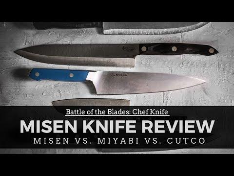Battle Of The Blades: Chef Knife (Misen Vs Miyabi Vs Cutco)