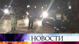 ВСаратове инспекторы ДПС спасли людей изгорящего дома.