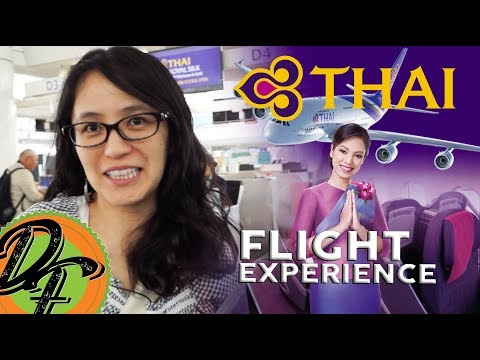 Thai Airways Flight Experience