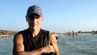 Ларичев Алексей.Кипр.2011 год.Отдых.Пляж Нисси Бич. Video