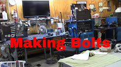Welding to Make Stainless Steel Bolts