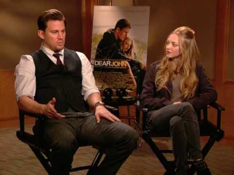 DEAR JOHN - Channing Tatum and Amanda Seyfried Interview