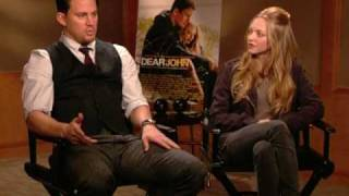 DEAR JOHN - Channing Tatum and Amanda Seyfried Interview