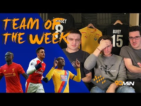 Arsenal fans are absolutely pathetic! | Should Moyes get the sack for slap threat!? | 90min TOTW