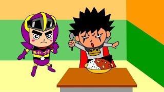 ぬかづけマンアニメ第2弾! 今回は、普段何気なく言ってる『いただきま...
