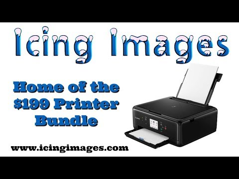 $199 Edible Printer by Icing Images