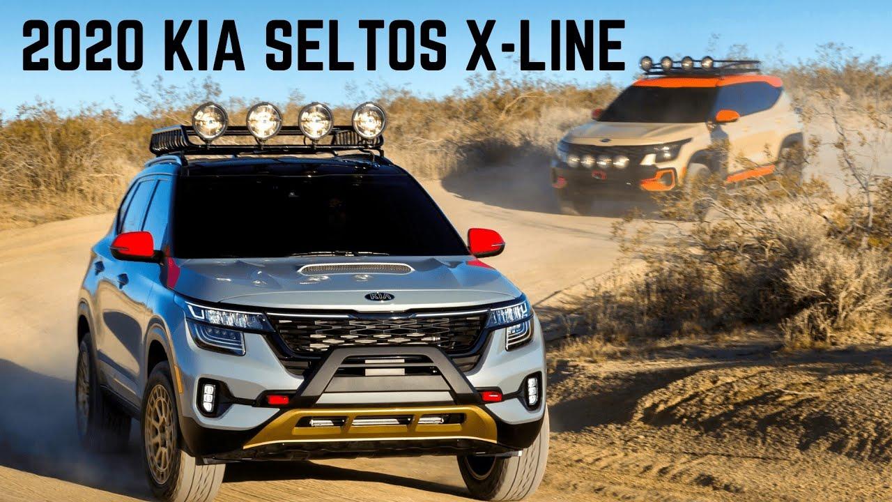 All New 2020 Kia Seltos X Line Suv Kia Seltos Awd Offroad Edition New Interiors Powerful Suv Youtube