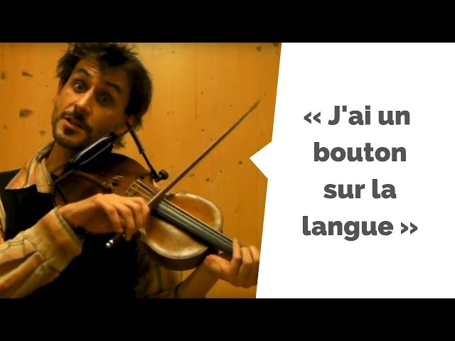 J'ai un bouton sur la langue - Duos pour un Violon (La Bolduc) - par Raphaël Maillet