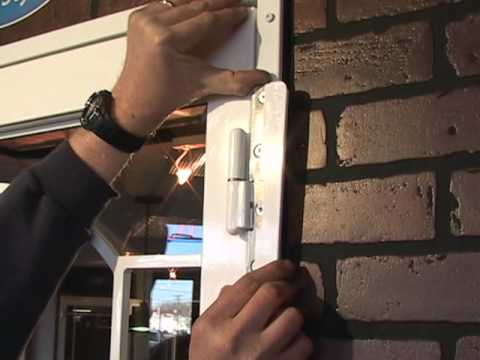 Secure Lift-Away Door Hinges by Secure-All Security Storm Doors - YouTube & Secure Lift-Away Door Hinges by Secure-All Security Storm Doors ... Pezcame.Com