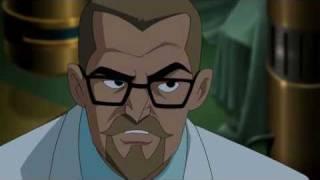Superman Confronts Professor Hamilton