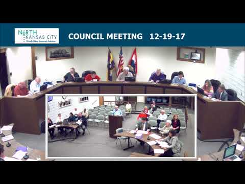 City of North Kansas City Regular Council Session 12-19-17