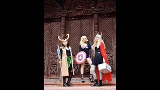 Hi! This week we decided tomake a compilation of videos from our genderbender Marvel cosplay photoshoot! Hope you like it ^^ Thank you Kumy for being our ...