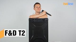 F&D T2 — обзор портативной акустической системы