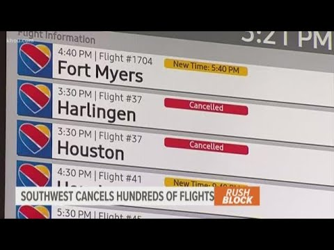 Southwest Airlines Delays and Cancels Hundreds of Flights a Third ...