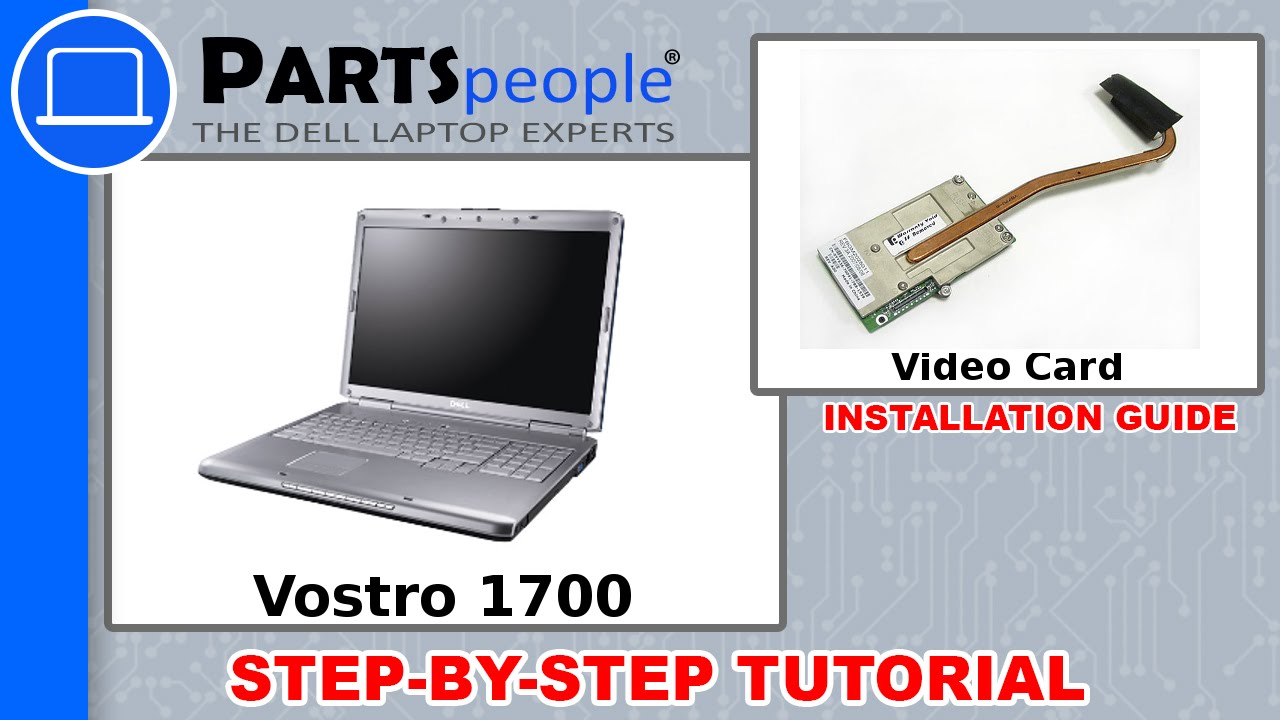 Dell vostro 1500 web camera replacement video tutorial youtube.