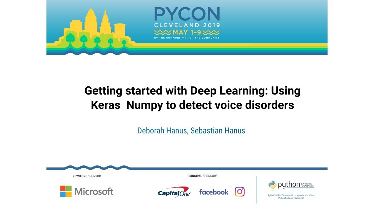 Image from Getting started with Deep Learning: Using Keras & Numpy to detect voice disorders