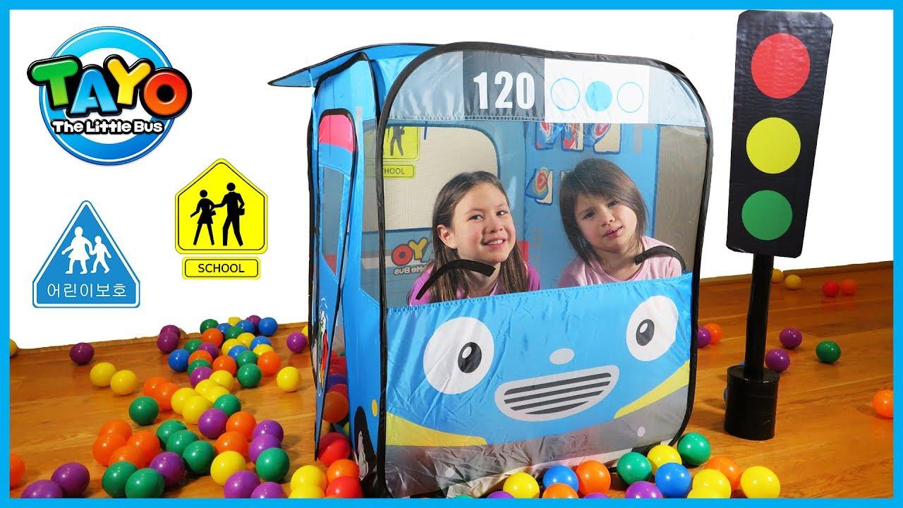 Tayo The Little Bus Nursery Rhyme Song The Wheels On The