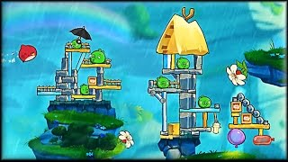 Angry Birds 2 - Colbalt Plateaus - Chirp Valley Walkthrough (part 2 of 6)