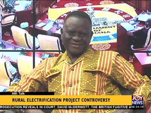Rural electrification project controversy - AM Talk (15-3-16)