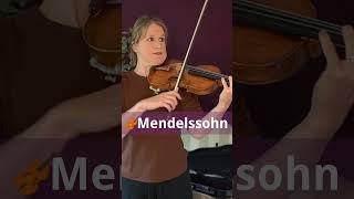 5 Most beautiful violin concerto openings #shorts