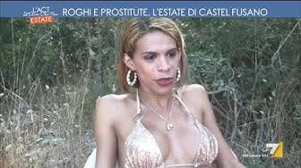Roghi e prostitute, l'estate di Castel Fusano