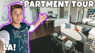 MY NEW APARTMENT TOUR IN LOS ANGELES! (Exclusive)