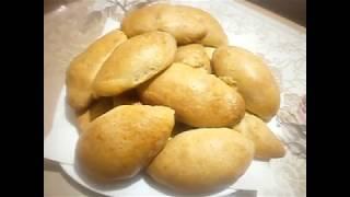 Быстрые пирожки из яблок Тесто с творога в духовке