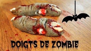 Doigts de zombie ☠ Recette d