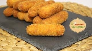 Enfes Patates Kroket Tarifi (Recette de Croquettes de pommes de terre ) Sesli Anlatımla