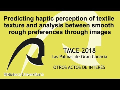 Predicting haptic perception of textile texture and analysis ...
