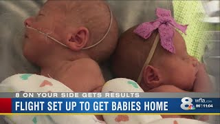Tampa Bay area business offers to help bring preemie twins home from Utah