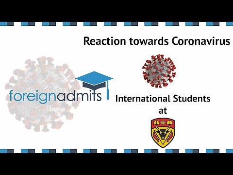 How Coronavirus Will Impact on International Students? Ep14 (University of Calgary) [ForeignAdmits]