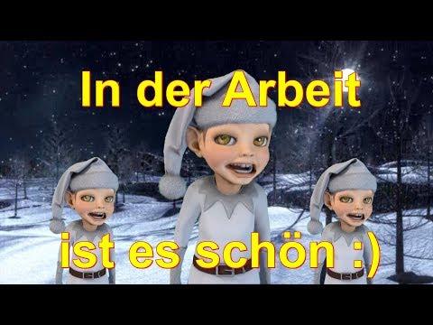In der Arbeit ist es schön :) In der Weihnachtsbäckerei Weihnachten Facerig deutsch german
