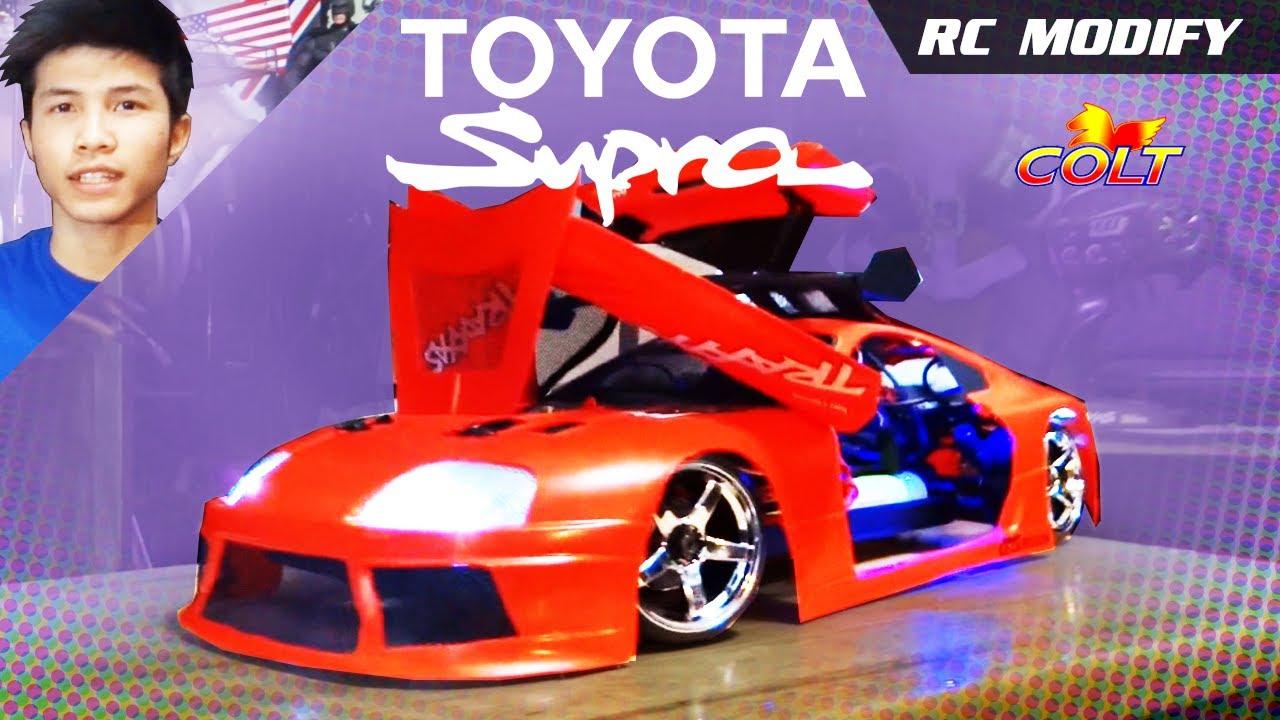 Rc Modify Toyota Supra Youtube