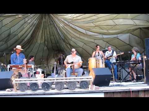 Brad James Band - Stone River Music Festival 2012 - Chandler, OK