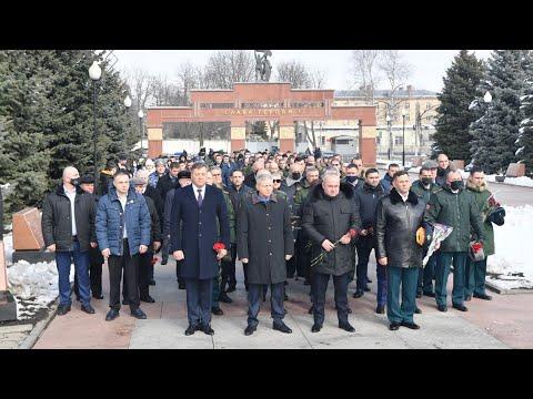 В Северной Осетии возложили цветы к мемориалам павшим в Великую Отечественную