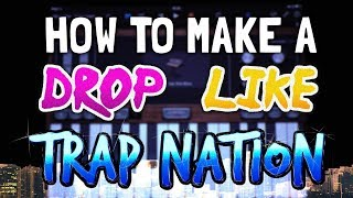 Gambar cover How to make a Drop like Trap Nation in Garageband (iPad & iPhone)