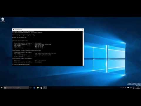How To Find Your Computer IP Address On Windows 8 / Windows 10