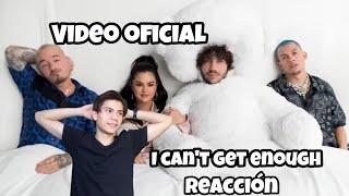 Benny Blanco, Tainy, Selena Gomez, J Balvin - I Can't Get Enough  Music   Reaccion