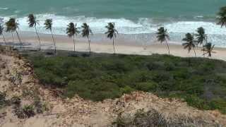 praias do litoral sul da paraiba