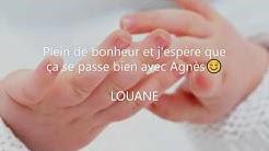 Félicitations Agnes diapo Gwenaelle